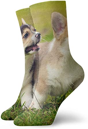 Material: 78% algodón, 20% nailon, 2% spandex.,Longitud de calcetines: 11.8 pulgadas / 30 cm,Poliést