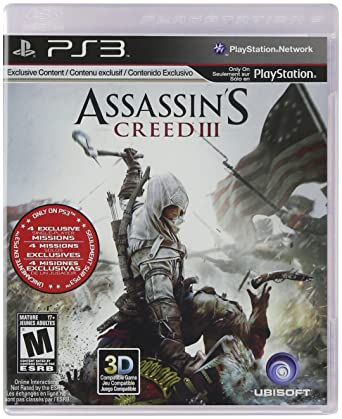 Amazon Com Assassin S Creed Iii Video Games