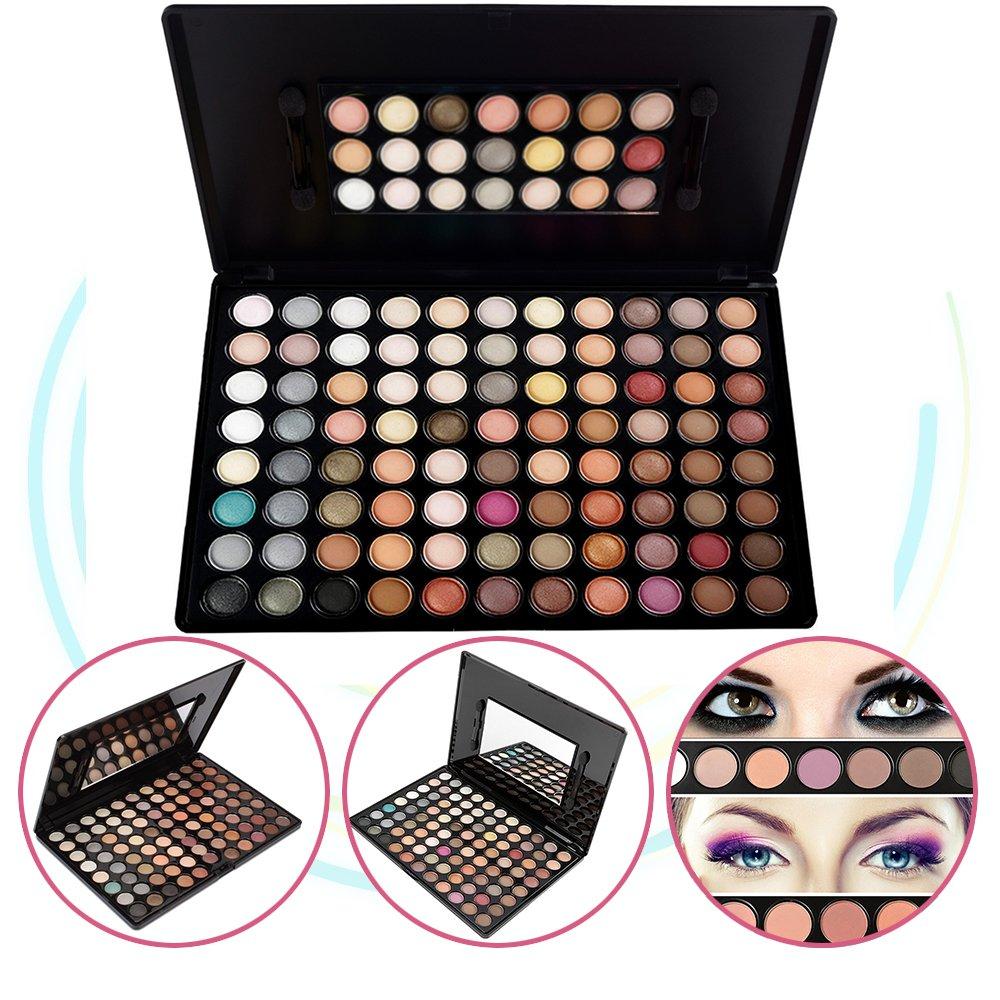 KRABICE Eyeshadow Palette,Bold and Bright Collection, Vivid,Eyeshadow Eye Shadow Palette Makeup Kit Set(88 Eyeshadow Palette) - Pattern 2
