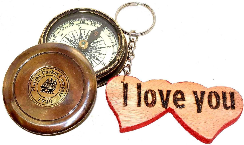 Robert Frost Poem Nautical.Gift.Decor Compas de Boussole Vintage Transit Compass Vintage Compass Nautique en Laiton