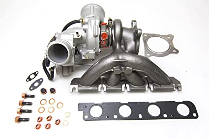 hPa Motorsports híbrida K04 Turbo longitudinal para Audi A4 A5 B7 B8 TFSI TSI FSI 2.0