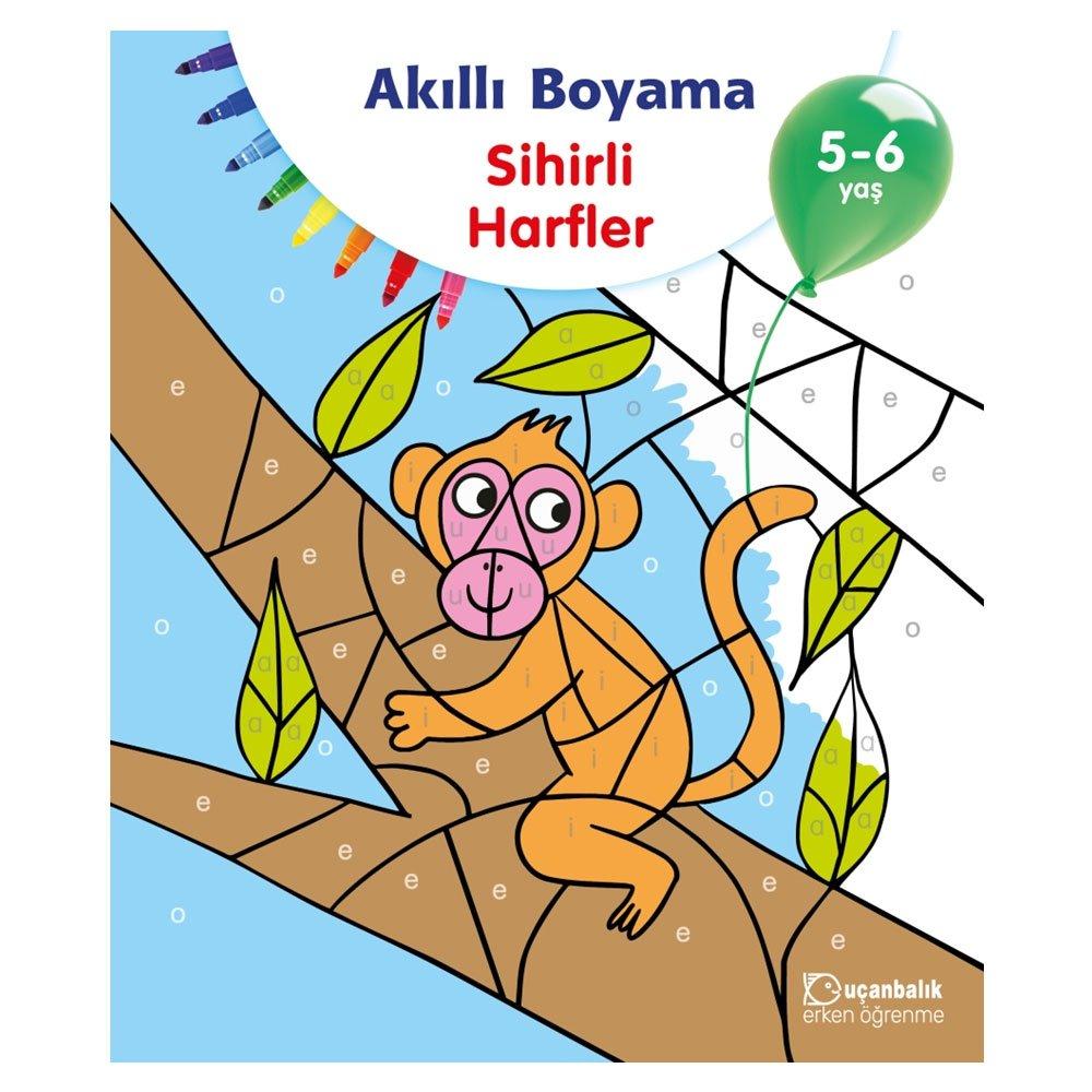 Akilli Boyama Sihirli Harfler 5 6 Yas Collective