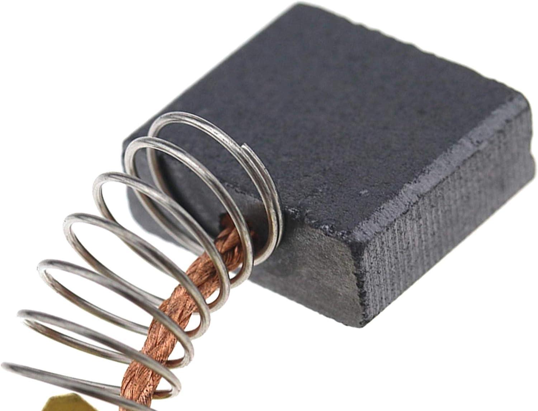 BERYLX Pi/èces de Rechange pour balais de Charbon compatibles avec Makita M9001 GA9020KD GA9020S GA9040 GA9050 GA7050 4 PCS