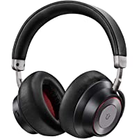 Utaxo Over-Ear Noise Cancelling Bluetooth Headphones with Mic