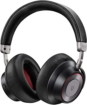 Amazon Com Noise Cancelling Headphones Utaxo Bluetooth Headphones With Mic Wireless Headphones Over Ear Hi Fi Sound Deep Bass Quick Charge 30h Playtime For Travel Work Tv Pc Cellphone Electronics