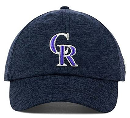 the latest 2da53 07f3a Image Unavailable. Image not available for. Color  Under Armour Women s Renegade  Twist Stretch Cap Hat MLB CO (Colorado Rockies) Navy
