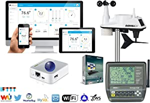 Davis Instruments 6250-WEATHERBRIDGE-KIT WiFi Vantage Vue Wireless Weather Station