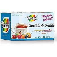 Therbal Té, Surtido de Frutes 25 sobres , 45 gramos.