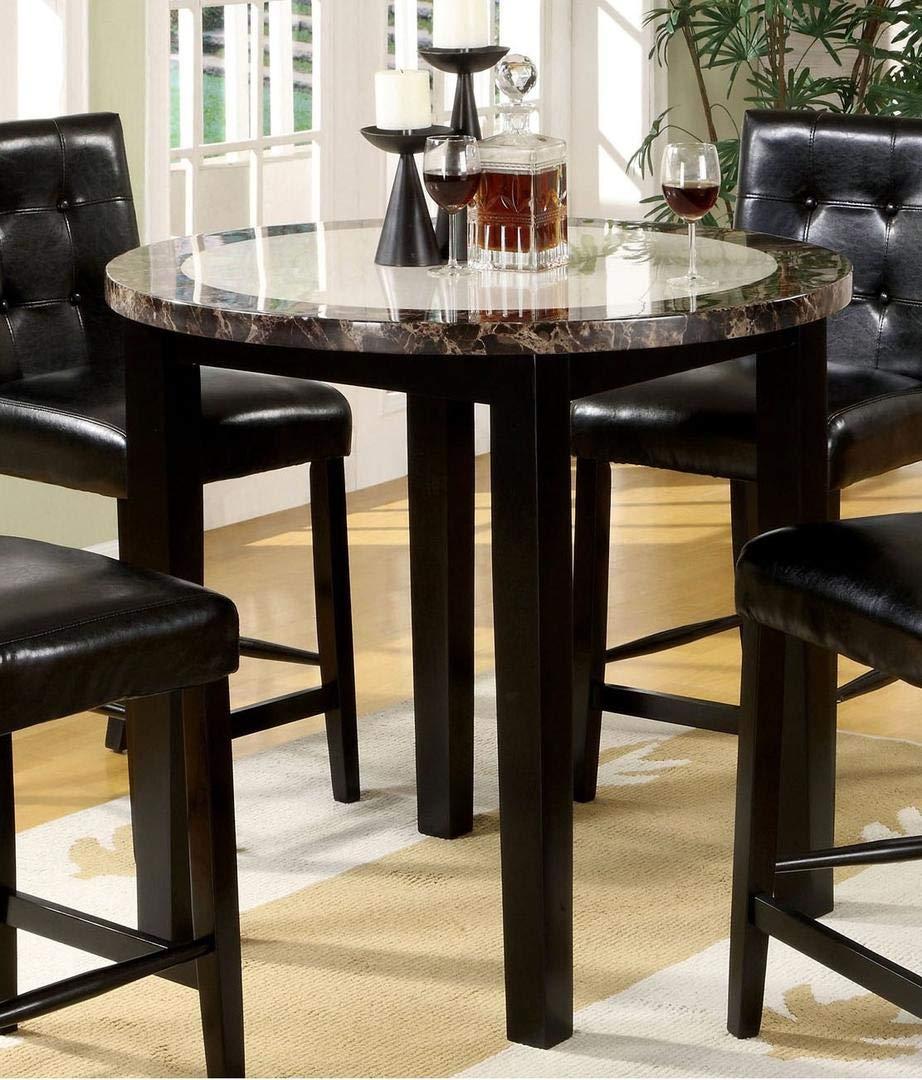Furniture of America CM3188PT-40 Atlas IV 40'' Round Counter Height Dining Tables by Furniture of America