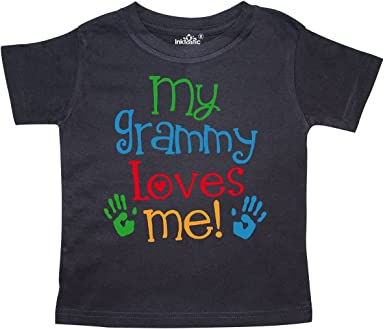 inktastic My Grammy Loves Me Toddler T-Shirt