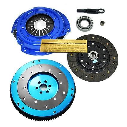 amazon com eft stage 2 clutch kit aluminum flywheel fits 91 98 240SX Roof Rack image unavailable