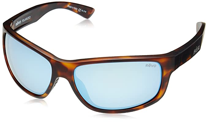 cafa9d4308 Revo Baseliner RE 1006 02 OR Polarized Wrap Sunglasses