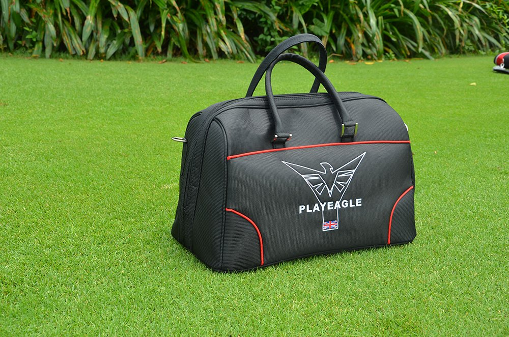 PLAYEAGLE 2017 Golf Shoe Bag High-grade Large Capacity Nylon Light Practical Golf Travel Apparel Boston Bag