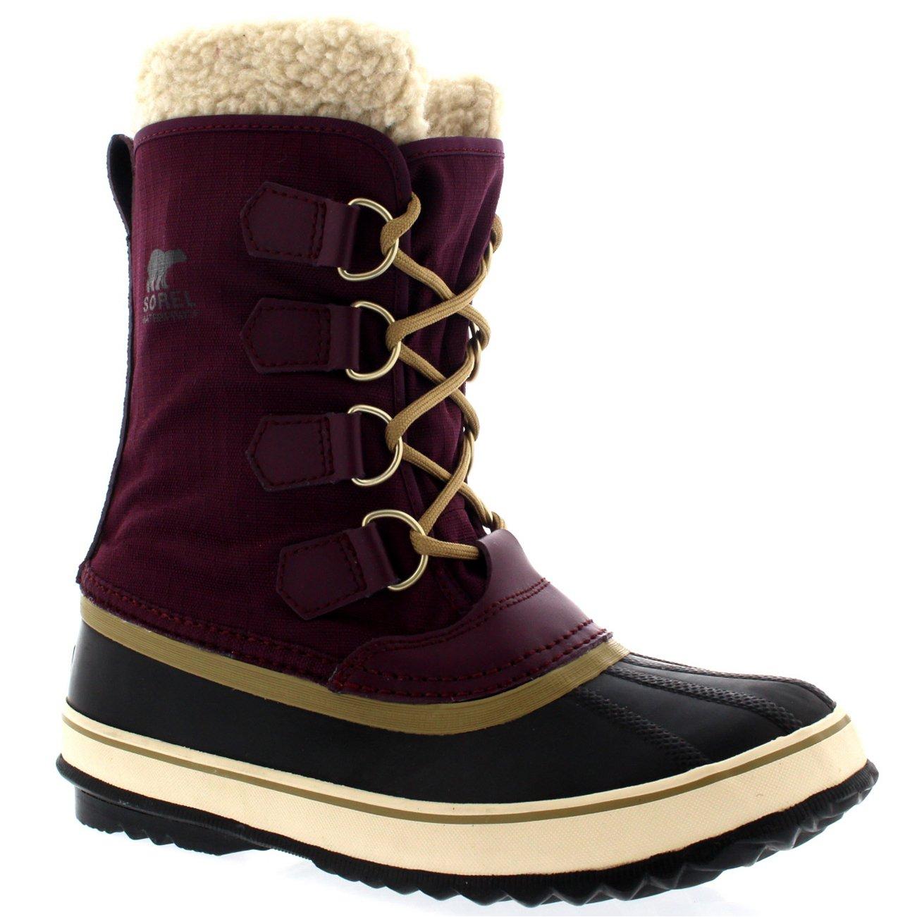 SOREL Women's Winter Carnival Boot, Purple Dahlia, 7 M US