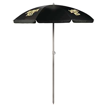 Picnic Time Ncaa Southern Mississippi Golden Eagles Portable Sunshade Umbrella