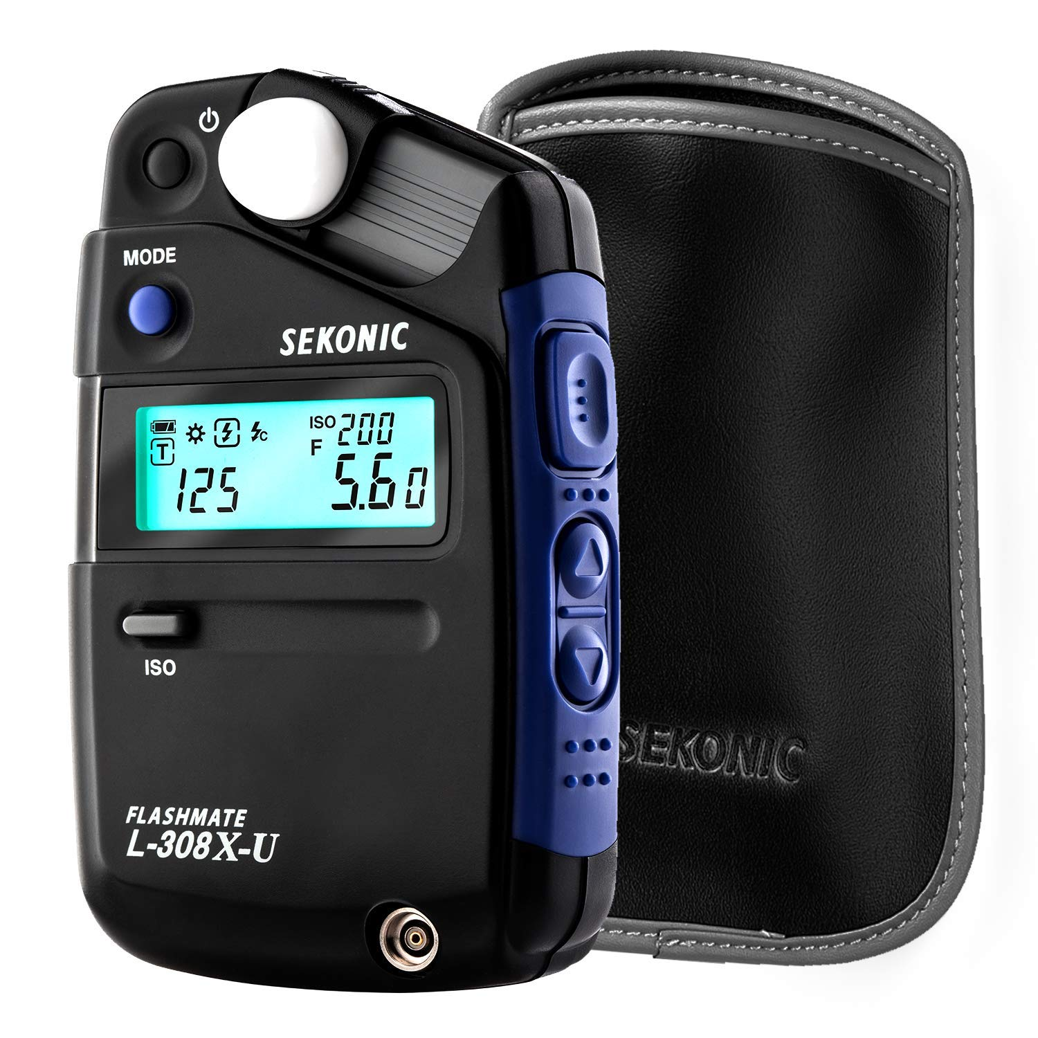 Sekonic L-308X-U Flashmate Light Meter (401-305) with Deluxe case by Sekonic