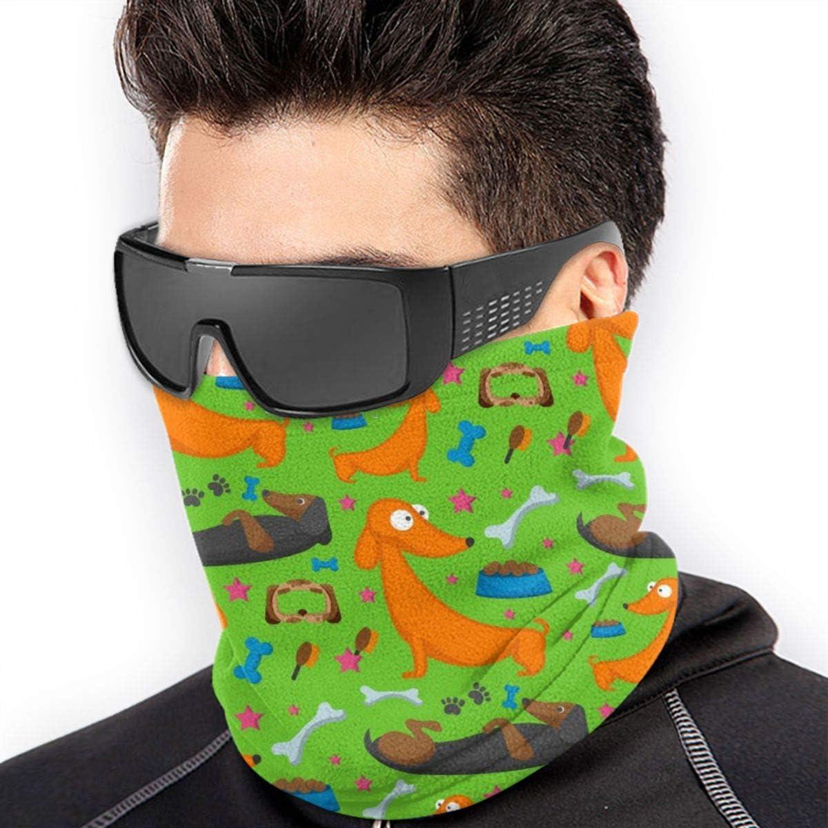 As A Bandana Balaclava Neck Gaiter Scarf Funny Dachshund Dog Versatile Sports /& Casual Headwear