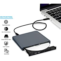USB C Type C USB 3.0 External 3D 4K Blue ray Player for MacBook pro USB C Blue ray Reader Combo DVD Burner Drive for MacBook Pro MacBook Air iMac All Laptop and Desktop pc