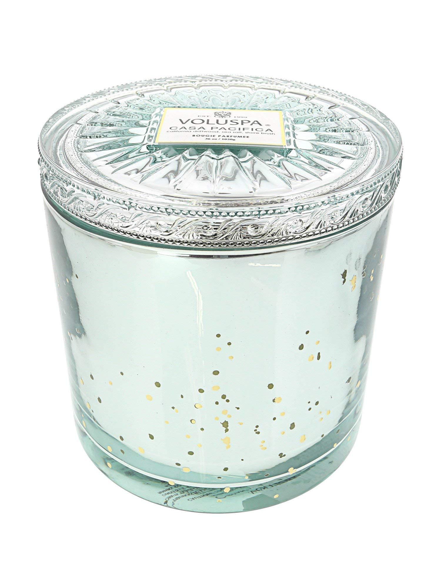 Voluspa Casa Pacifica Grande Maison 3 Wick Glass Candle, 36 ounces