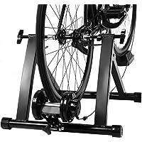 COSTWAY Rodillo Magnético Entrenamiento Bicicleta de Acero