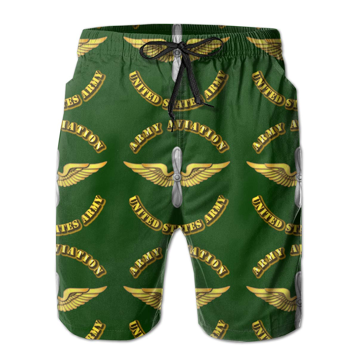 Army Aviation Mens Swim Trunks Bathing Suit Beach Shorts You Know And Good Army