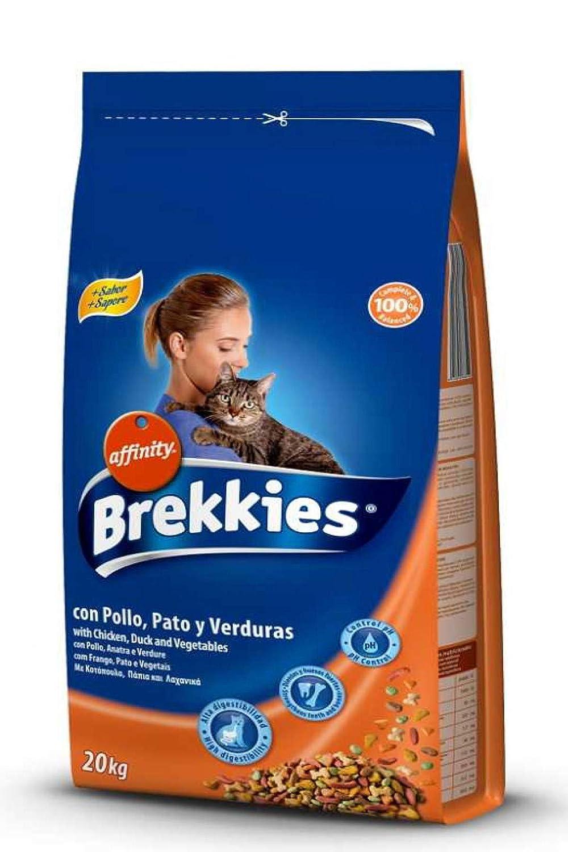 Affinity Brekkies Alimento gato pollo, pato y verduras 20 kg + Juegos Gratis: Amazon.es: Hogar