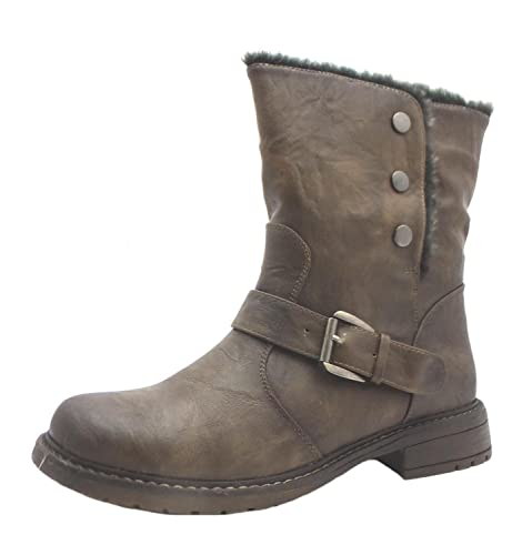 24635949a0 Size 6 Cats Eyes Women s L 830b Synthetic Leather Ankle Boots ...