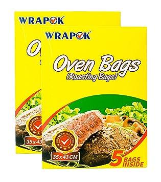 WRAPOK Bolsas para horno de cocina para la carne de pollo de ...