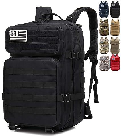 aspetto dettagliato 34c36 682f7 onyorhan Zaino Militare Tattico Molle Assault Pack Tactical Backpack / 40L