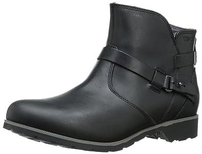 Teva Women's W Delavina Ankle Boot, Black, ...
