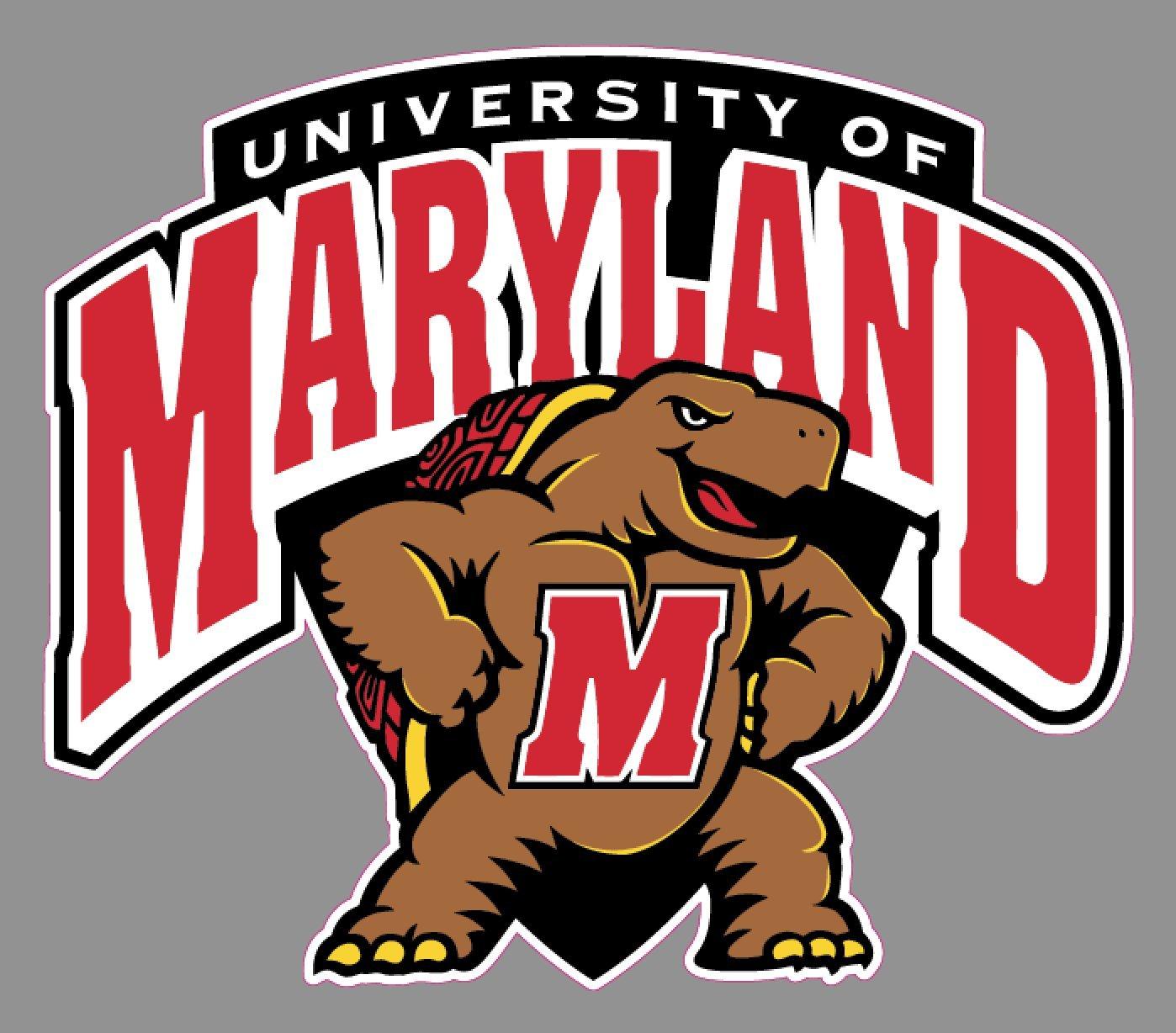 生まれのブランドで Marylandメリーランド大学大学カーデカールバンパーステッカー| 6