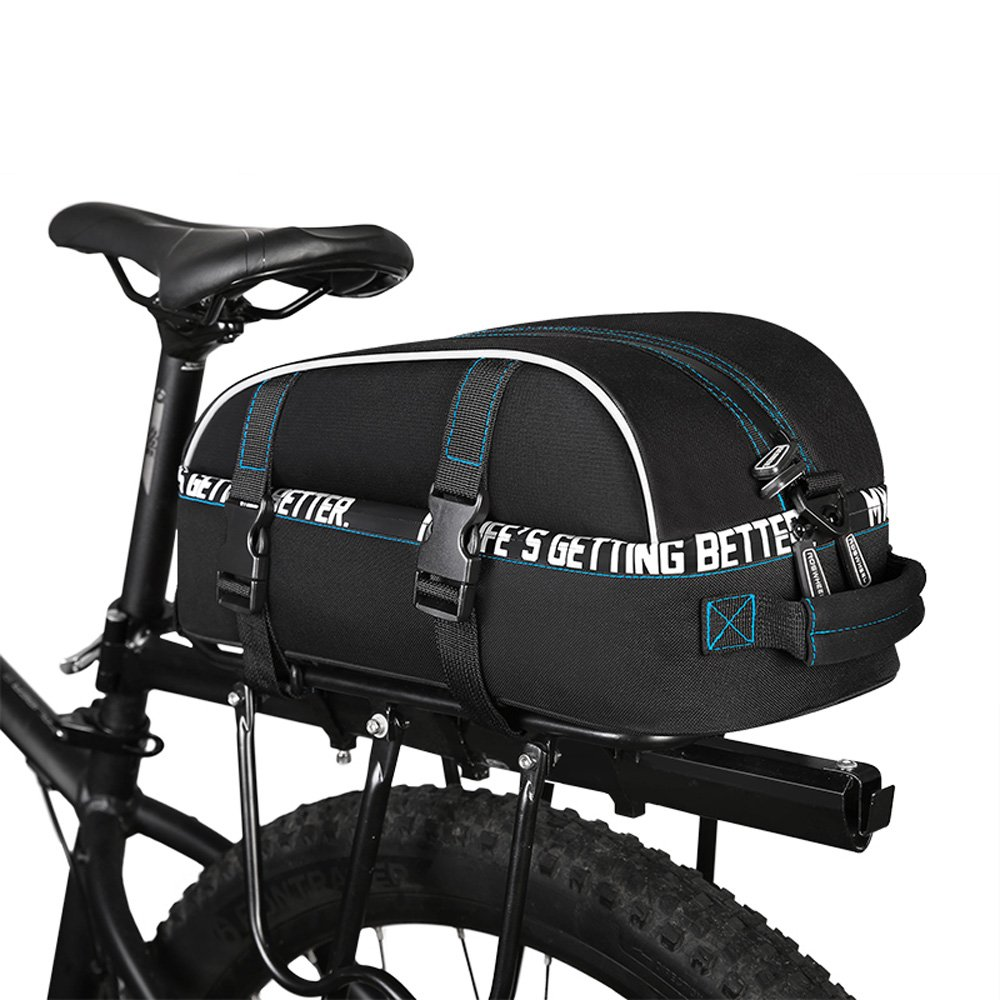 COTEetCI Bicycle Accessories 8L Rear Rack Bike Bag MTB Road Bicycle Luggage Bag Mountain Cycling Seat Pannier Trunk Carrier Bag by COTEetCI