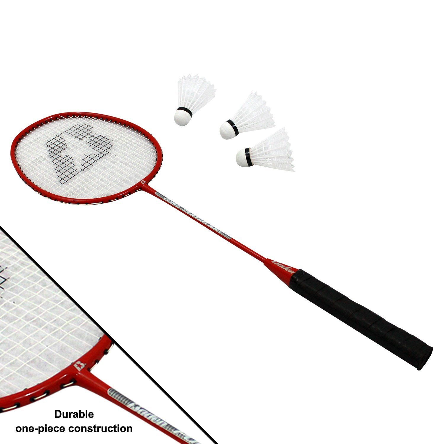 Bundle Includes 3 Items - Baden Champions Volleyball Badminton Set, Flickin' Chicken and Champion Sports Wooden Ring Toss Game by Baden, Champion Sports & Haywire Group (Image #5)