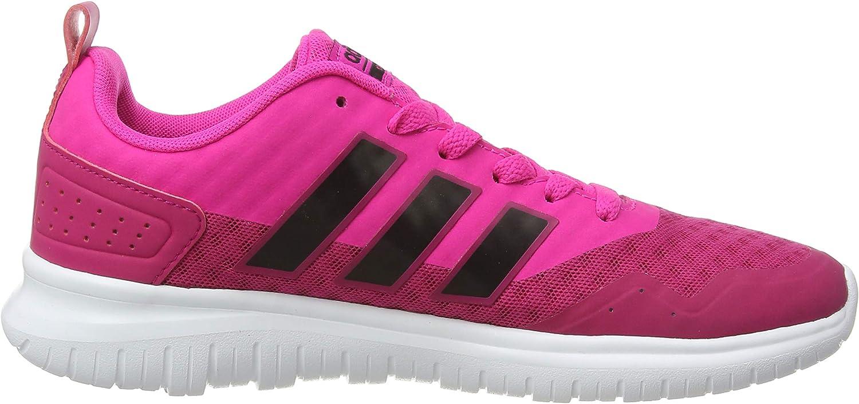 adidas Cloudfoam Lite Flex W Damen Sportschuhe–Gymnastik, Damen, Cloudfoam LITE Flex W, weiß, 40.6 Pink (Pink Aw4203)