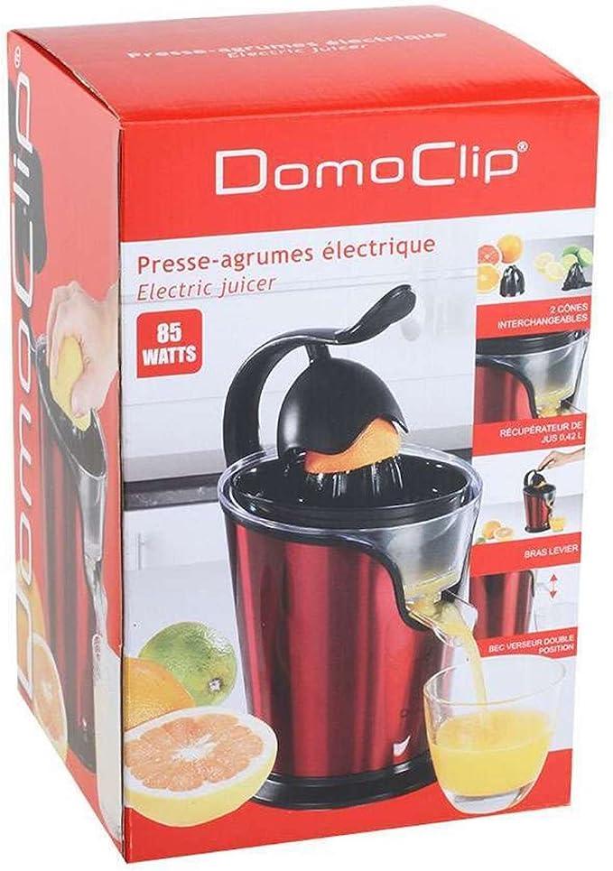 Domoclip Presse Agrumes électrique rouge 85 W DOD125R : test