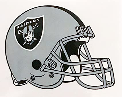 1b34b1dba Amazon.com  4 Pack Oakland Raiders Die Cut Stickers NFL Football ...