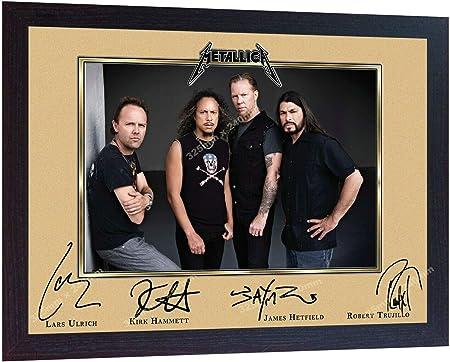 SGH SERVICES Metallica James Hetfield - Póster Enmarcado, diseño de James Hetfield: Amazon.es: Hogar