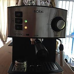 Solac CE4552 Squissita Touch - Cafetera espresso, 1.5 l ...