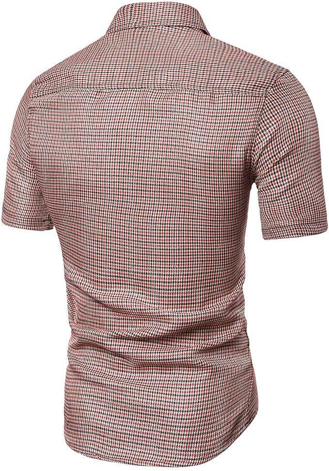 Trisee - Camisa de Manga Corta para Hombre, diseño de sandía roja, Rojo, Rosa, Azul S/M/L/XL/2XL Rojo sandía XXL: Amazon.es: Ropa y accesorios