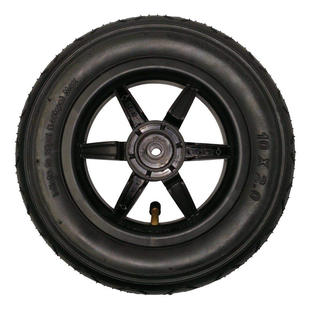Mountain Buggy Duet 10'' Complete Front Wheel (for V2.5 Duet Models Manufactured Between 2015 and 2017)