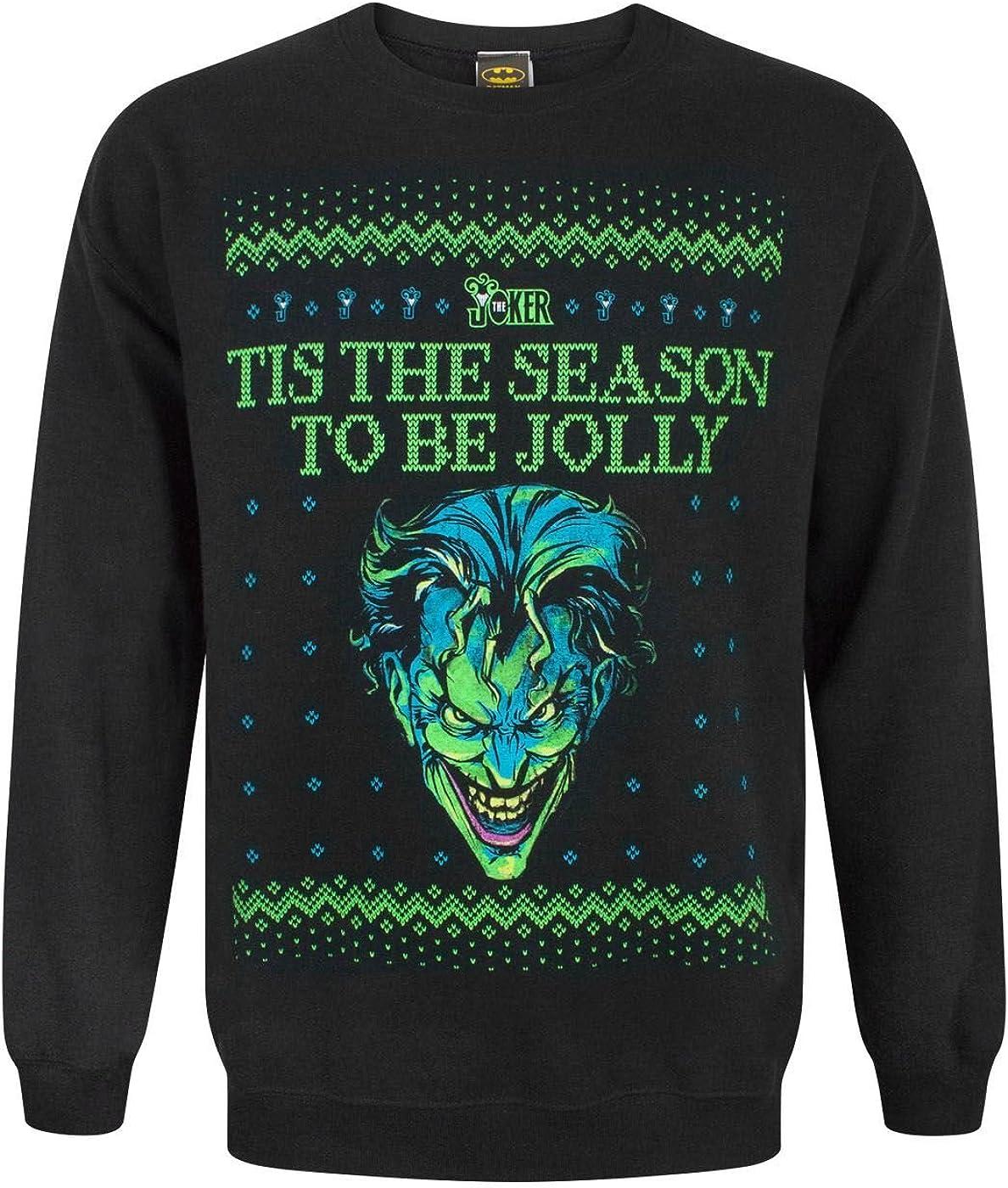 Batman Bat Sweater Ugly Christmas Sweater Sublimation Long Sleeve Shirt