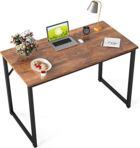 BOSSIN Computer Desk Table 39″ Study Writing Table