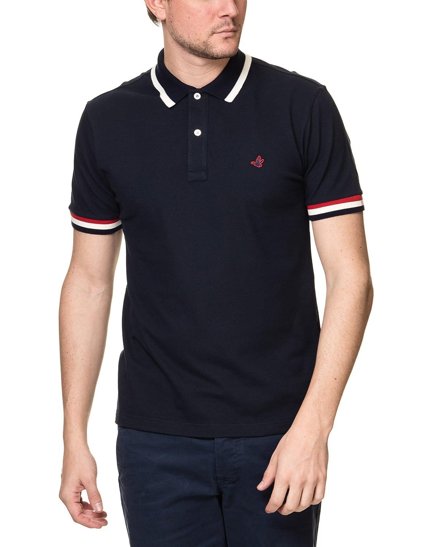 Brooksfield Mens Dark Polo Shirt Blue At Amazon Mens Clothing Store