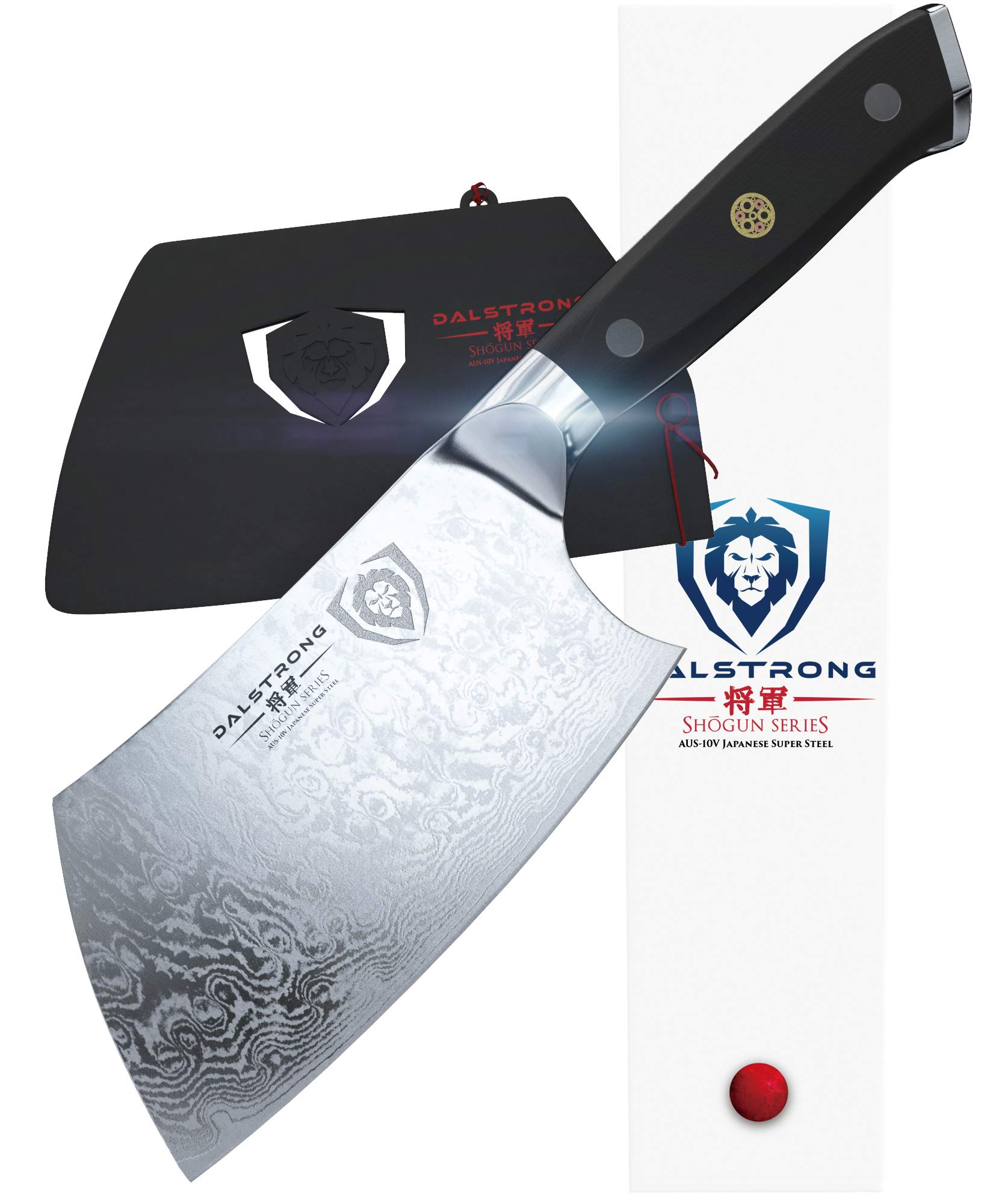 DALSTRONG - Shogun Series 4.5'' Mini Cleaver - Japanese AUS-10V Super Steel - Vacuum Heat Treated by Dalstrong