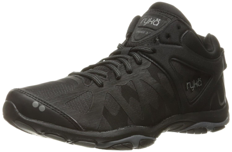 Ryka Women's Enhance 3 Cross-Trainer Shoe B01KVZU8LE 6.5 B(M) US|Black/Grey