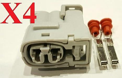 muzzys (Juego de 4) Bobina de encendido Conector Kits de reparación para Toyota Supra