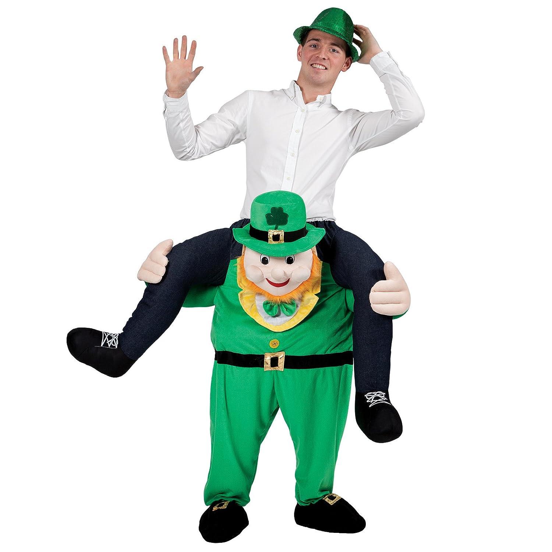 Carry Me Leprechaun - Adult Costume Adult - One Größe