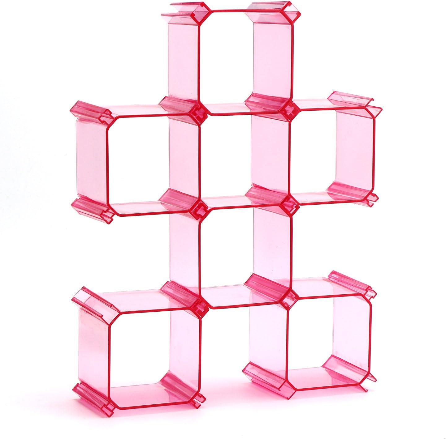 Segbeauty® Divisores de Cajones de Plástico, 6 Rejillas ...