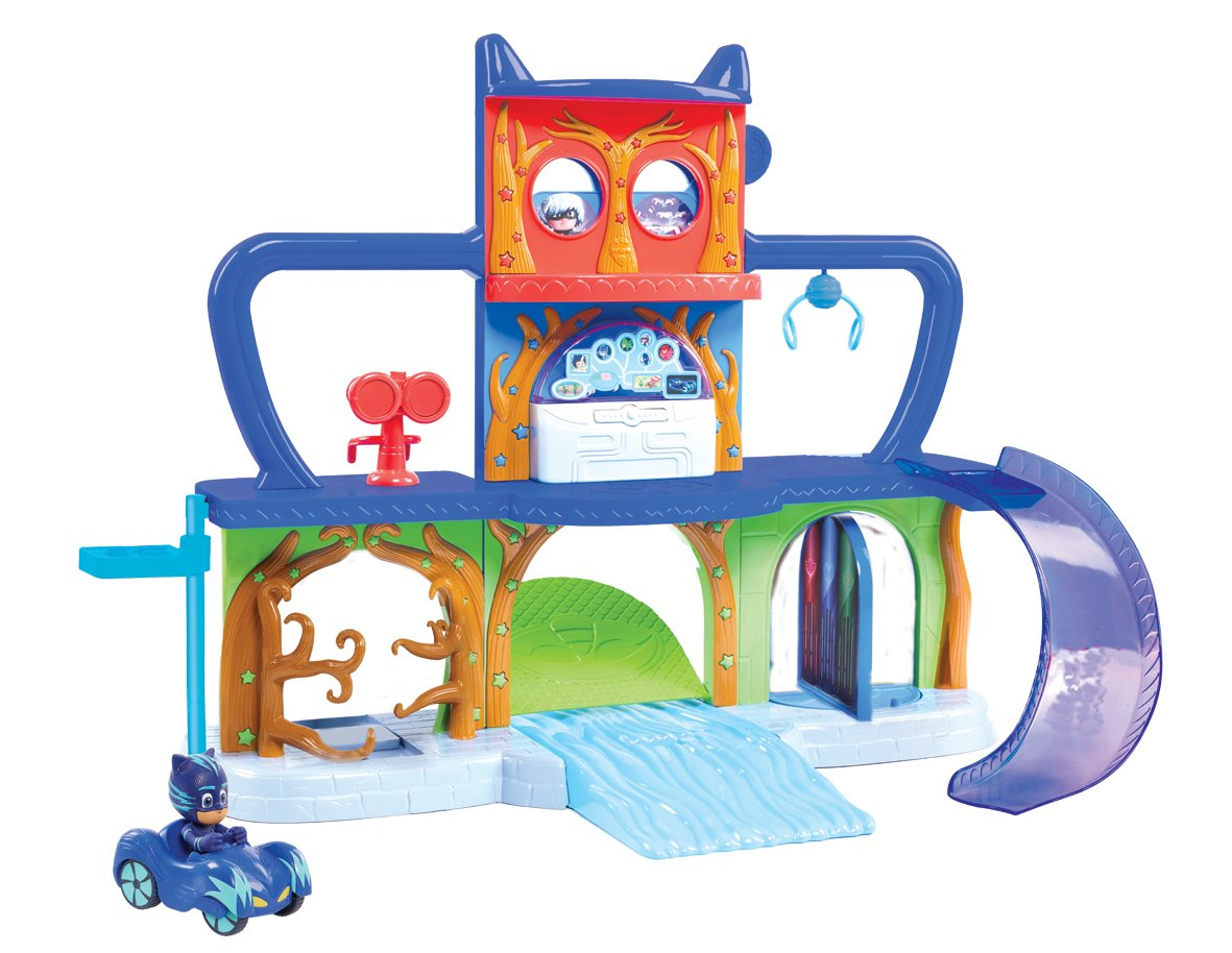 PJ Masks - Playset base secreta (Bandai 24561): Amazon.es: Juguetes y juegos