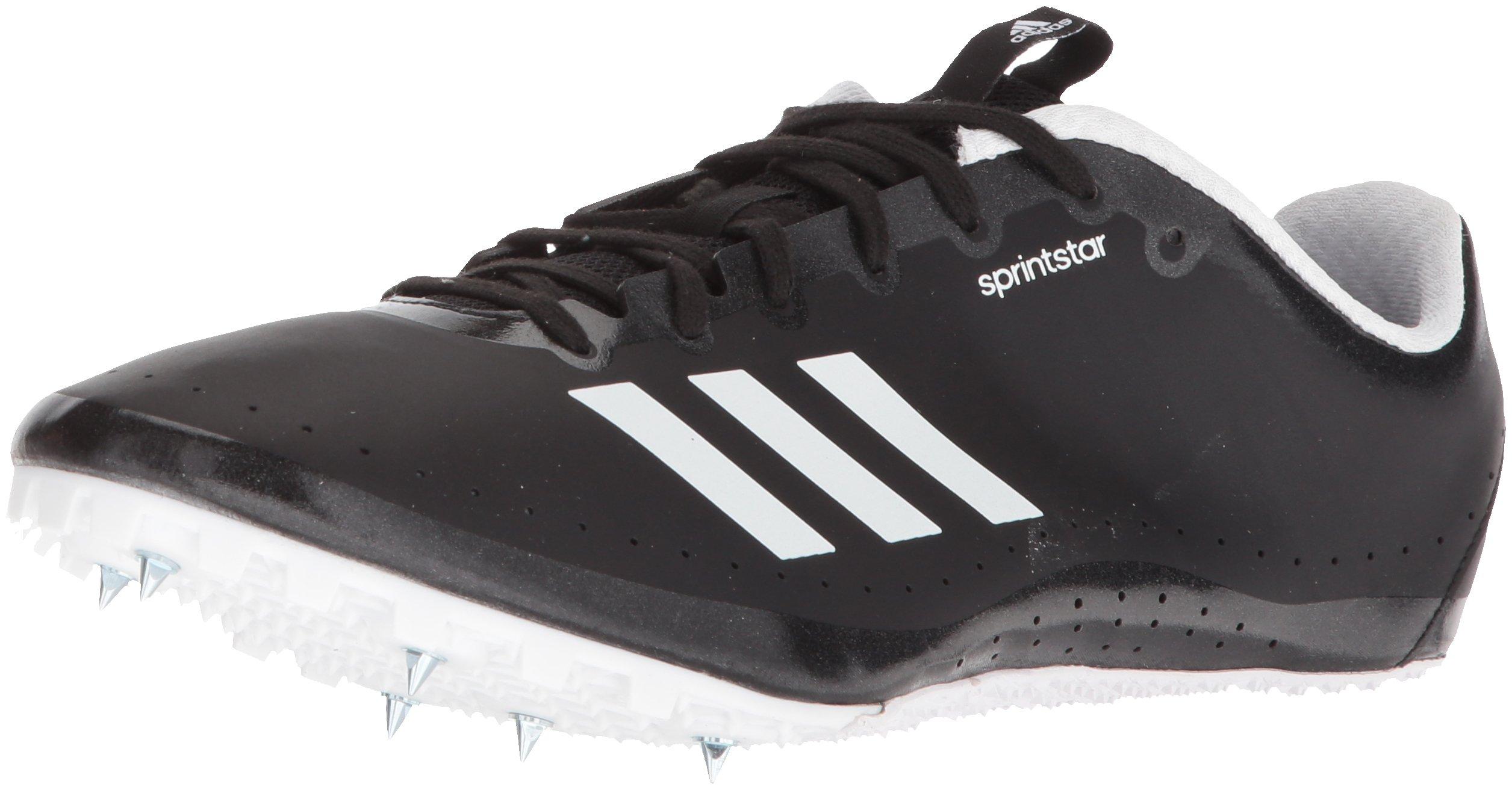 adidas Women's Sprintstar w, core Black/Orange/White 11.5 M US by adidas (Image #1)